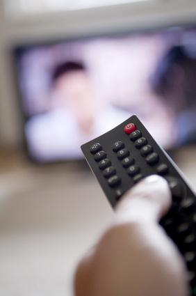 Gewohnheit Flimmerkiste TV Fernseh gucken