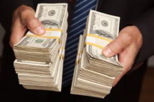 An Geldbeträge gewöhnt man sich- bis zu einem gewissen Punkt