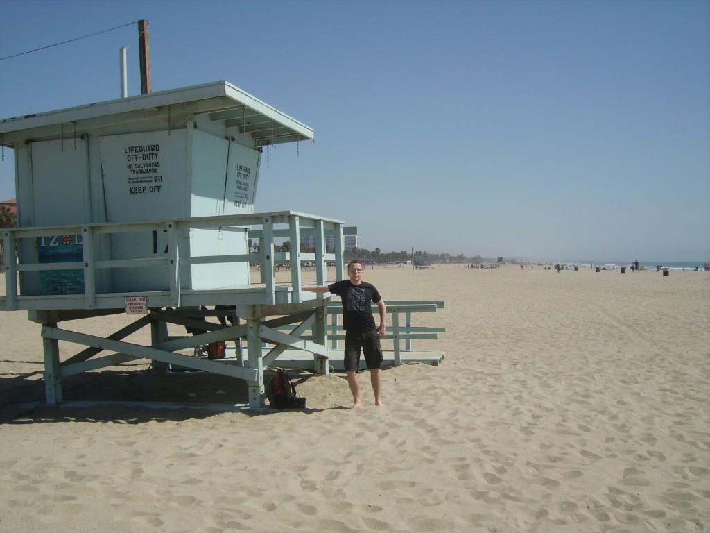 Bild vom Strand in Los Angeles